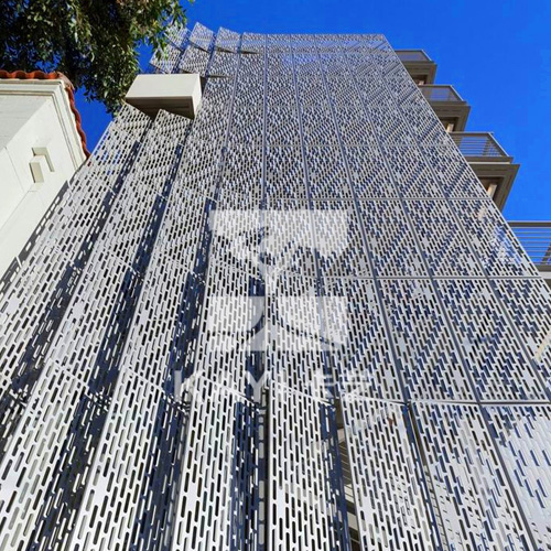 Perforated Metal Sunshading Panel