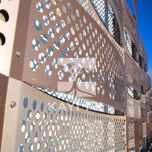 Perforated Metal Cladding