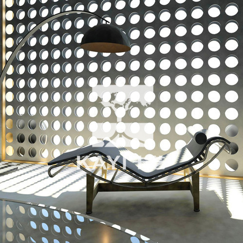 Perforated Metal Divider