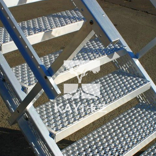 Perforated Stair Steps